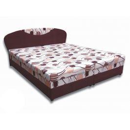 Manželská postel 160 cm Izabela 4 (s pěnovými matracemi)