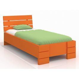 Jednolůžková postel 90 cm Naturlig Kids Lorenskog High (borovice) (s roštem)