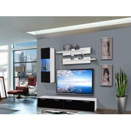 Obývací stěna Ledge 25 WS LE C1 (s osvětlením)