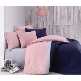 Cottonbox povlečení 100% bavlněné renforcé Pinky Blue - 240x200 / 2x70x90 cm
