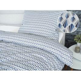 Homeville Homeville povlečení 100% bavlna Aura šedá 140x200cm+70x90cm