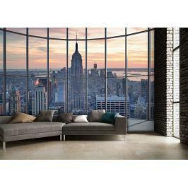 1Wall Vliesová fototapeta Výhled na New York 366x253 cm