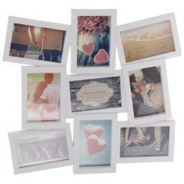 Home collection Rám na 9 fotek 42,5x48cm bílý