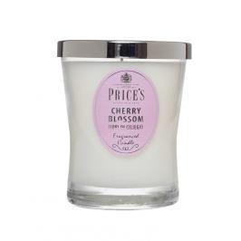 Price´s SIGNATURE vonná svíčka ve skle Cherry blossom střední 425g