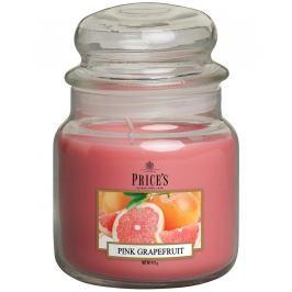 PRICE´S MIDI svíčka ve skle Růžový grapefruit, hoření 90h