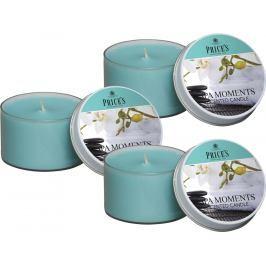 Price´s SIGNATURE vonné svíčky v plechu Spa moments 123g 3ks