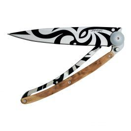 deejo Kapesní nůž tattoo 37 g juniper Tribal