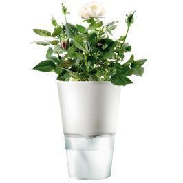 Eva Solo Samozavlažovací květináč křídově bílá Ø 11 cm