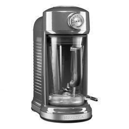 KitchenAid Stolní mixér s magnetickým pohonem Artisan stříbřitě šedá