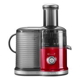 KitchenAid Odstředivý odšťavňovač Artisan s keramickým kotoučem červená metalíza