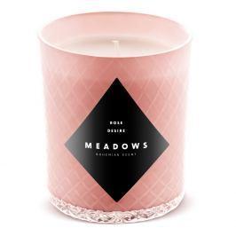 Meadows Vonná svíčka Rose Desire medium růžová