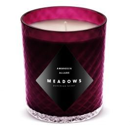 Meadows Vonná svíčka Ambrosia Allure medium fialová