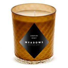 Meadows Vonná svíčka Libertine Spirit medium jantarová
