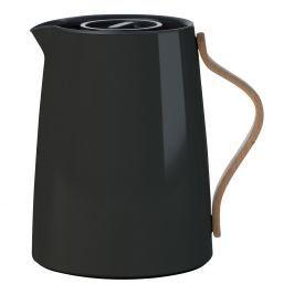 Stelton Vakuová termoska na čaj Emma black 1 l danish modern 2.0
