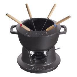 Staub Set na fondue černý Ø 16 cm