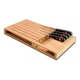 WÜSTHOF Dřevěný organizér na 7 nožů rovný