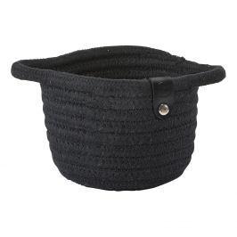 ZONE Úložný košík malý black ROLL