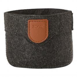ZONE Úložný košík malý dark grey CRAFT
