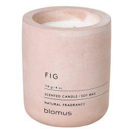 Blomus Vonná svíčka ze sójového vosku FRAGA světle růžová Ø 6,5 cm