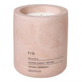 Blomus Vonná svíčka ze sójového vosku FRAGA světle růžová Ø 9 cm