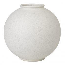 Blomus Váza RUDEA bílá Ø 22,5 cm