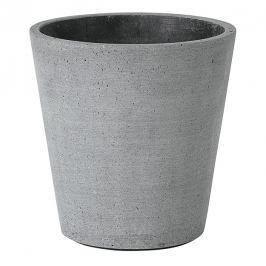 Blomus Květináč Coluna tmavě šedý Ø 14 cm