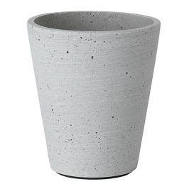 Blomus Květináč Coluna světle šedý Ø 11 cm