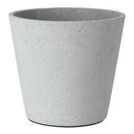 Blomus Květináč Coluna světle šedý Ø 18 cm