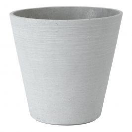 Blomus Květináč Coluna světle šedý Ø 26 cm