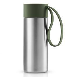 Eva Solo Nerezový termohrnek To Go XL s uzávěrem lesní zelená 0,5 l