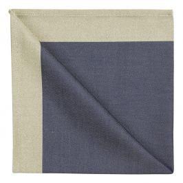 Georg Jensen Damask Ubrousek blue gold 50 x 50 cm