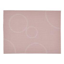 ZONE Prostírání s kruhy 30 x 40 cm rose