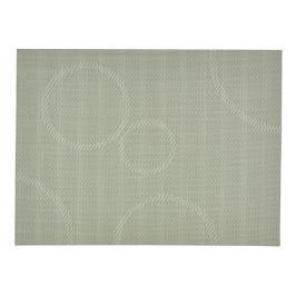 ZONE Prostírání s kruhy 30 x 40 cm dusty green