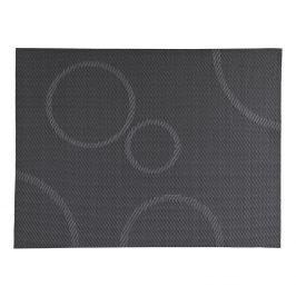 ZONE Prostírání s kruhy 30 x 40 cm grey