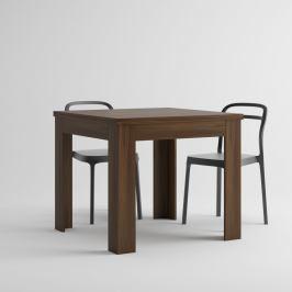 Rozkládací jídelní stůl v dekoru ořechu MobiliFiver Eldorado, délka90-180cm