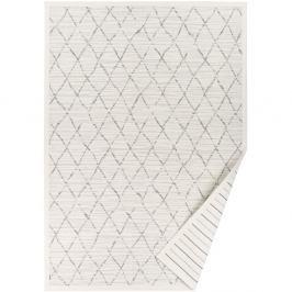 Bílý vzorovaný oboustranný koberec Narma Vao, 140 x 200cm
