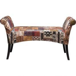 Béžová polstrovaná lavice Kare Design Motley