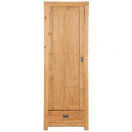 Šatní skříň z masivního borovicového dřeva Støraa Cabana