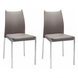 Sada 2 hnědých židlí Støraa Zulu
