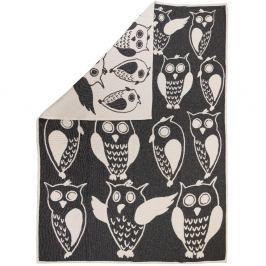 Žakárová deka Owls