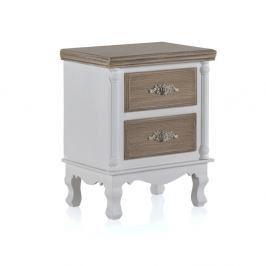 Noční stolek se 2 zásuvkami Geese Anna