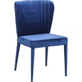 Sada 2 modrých jídelních židlí Kare Design Cosmos