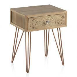 Noční stolek se zásuvkou Geese Lisboa