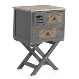 Noční stolek se 2 zásuvkami Geese Marrakech