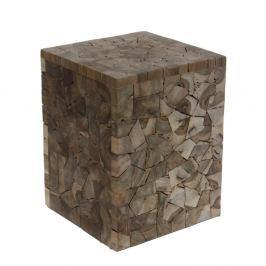 Stolička z teakového dřeva HSM collection Tempel