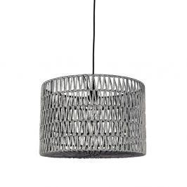Šedé stropní svítidlo LABEL51 Stripe