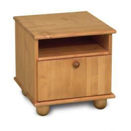 Noční stolek z borovicového dřeva Faktum Tomi
