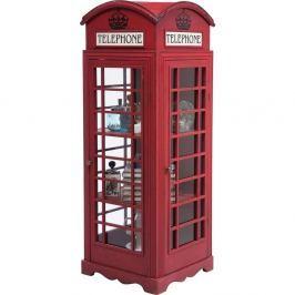Vitrína Kare Design London Telephone, výška140cm