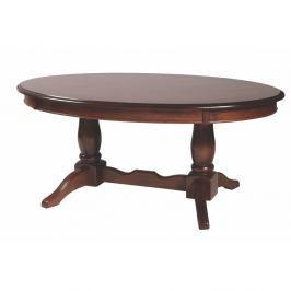Dřěvený konferenční stolek v dekoru ořechového dřevaFolke Zaide, délka120cm