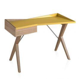 Dubový pracovní stůl Ángel Cerdá Nita